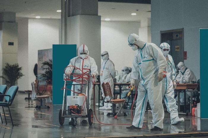 Désinfection spécial Coronavirus Centre Commercial