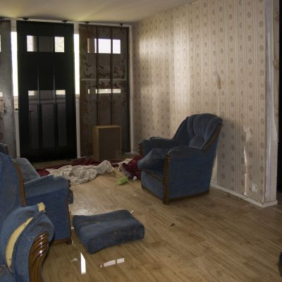 Nettoyage de logement squatté