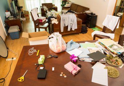 Débarrasser une maison